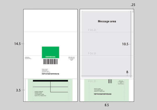 click2mail layout templates